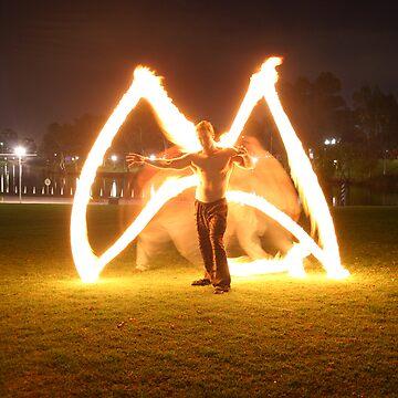 Dan - fire angel  by razedinflames