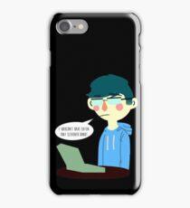 Tumblr Donut Boy iPhone Case/Skin