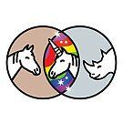 Horse + Rhino = Unicorn by Stephen Wildish