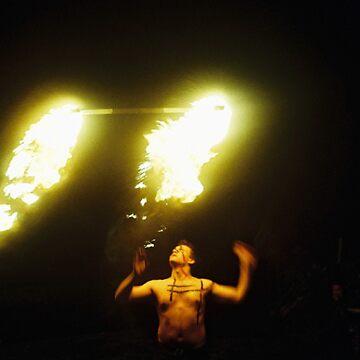 Tribal Burnoff by razedinflames
