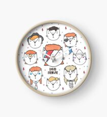 The 9 Lives of David Meowie Clock