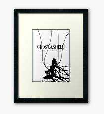 Ghost In The Shell (w/ Frame) Framed Print