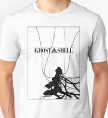 Ghost In The Shell (w/ Frame) Unisex T-Shirt