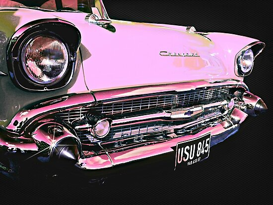 Candy Pink Chevrolet by ScenicViewPics