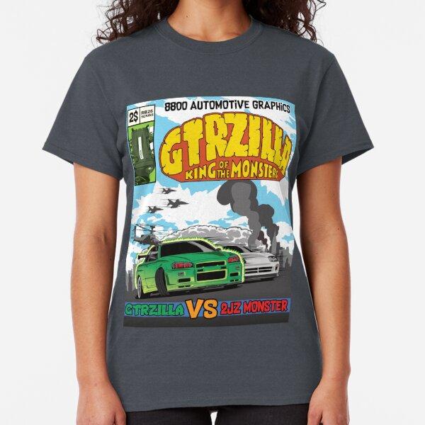 GTRZILLA R34 (2 von 2 VERSION) Classic T-Shirt