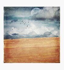 Where Land Meets Sky Photographic Print