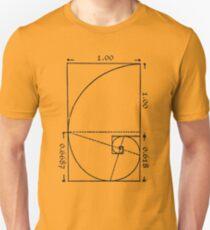 The Golden Spiral Unisex T-Shirt