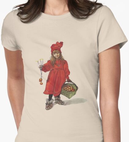 Iduna and the Magic Apples After Larrson Vector T-Shirt