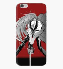 Manga Grell Sutcliff auf Rot iPhone-Hülle & Cover