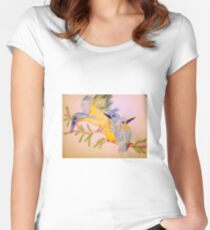 Bird's Chirping Women's Fitted Scoop T-Shirt