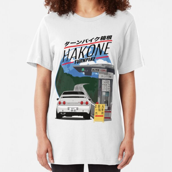 Hakone NISSAN Skyline R32 GTR Slim Fit T-Shirt