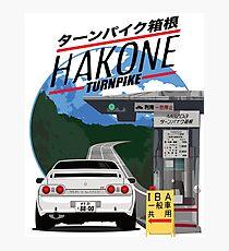 Hakone NISSAN Skyline R32 GTR Photographic Print
