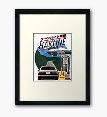 Hakone Toyota AE86 Trueno Framed Print