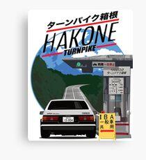 Lienzo Hakone Toyota AE86 Trueno