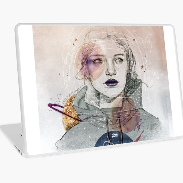 I NEED MORE SPACE Laptop Skin