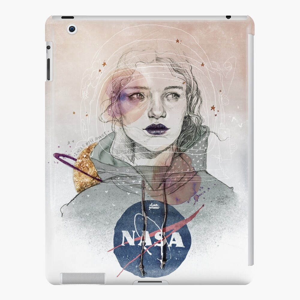 I NEED MORE SPACE Funda y vinilo para iPad