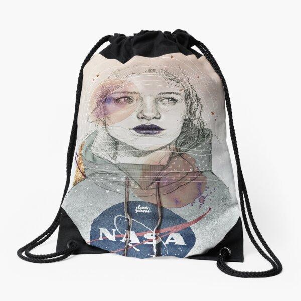 I NEED MORE SPACE Drawstring Bag
