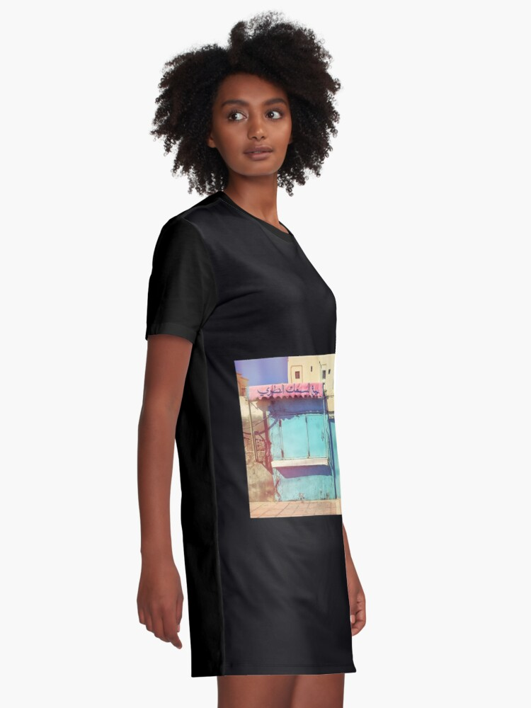 Alternate view of Sunday in Morocco Graphic T-Shirt Dress