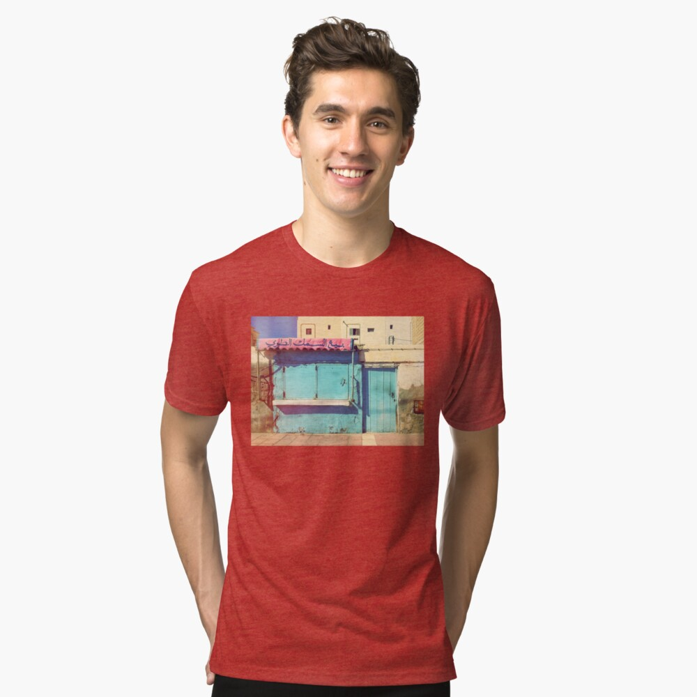 Sunday in Morocco Tri-blend T-Shirt