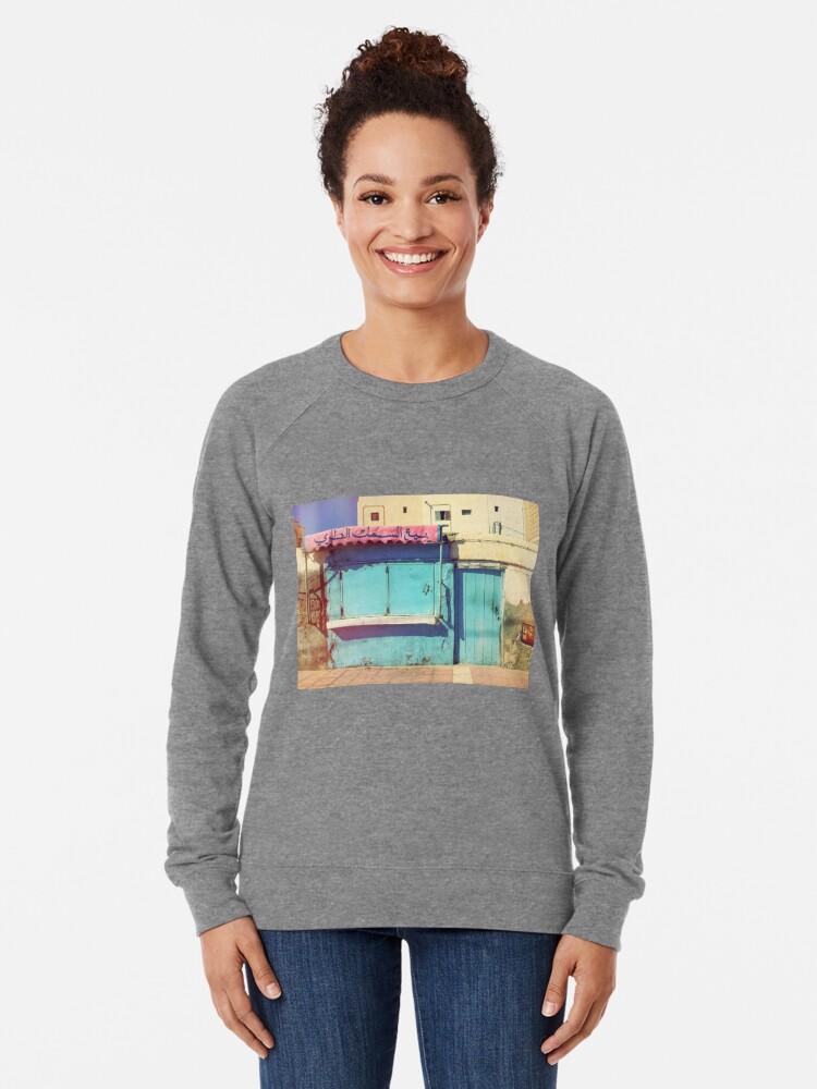 Alternate view of Sunday in Morocco Lightweight Sweatshirt