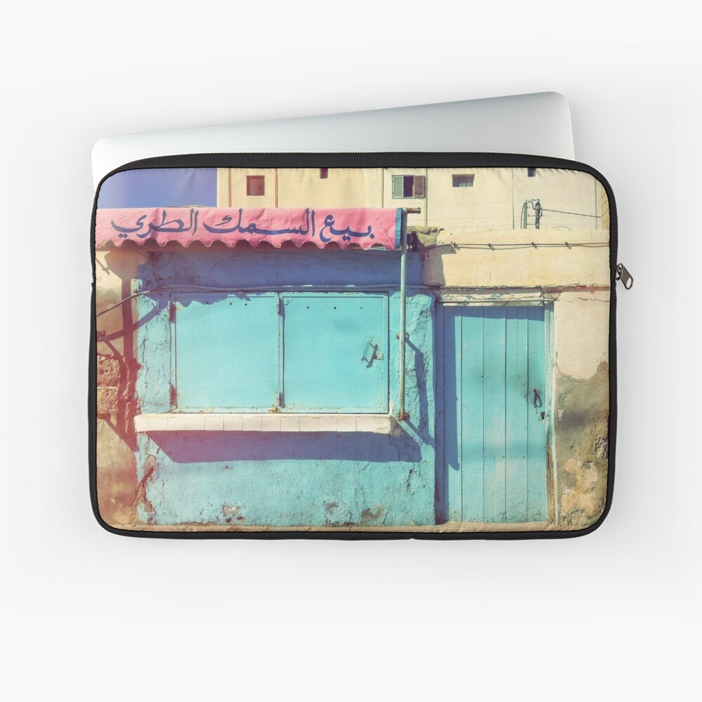Sunday in Morocco Laptop Sleeve