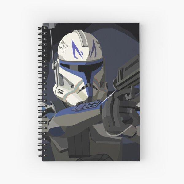 Captain Rex Spiral Notebook