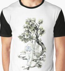 Chinese Meng Ji Tiger Graphic T-Shirt