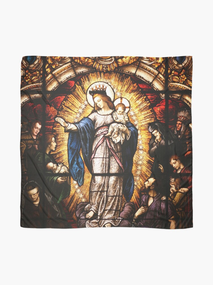 Alternate view of The Virgin Mary Scarf