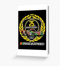Mazda 787B Greeting Card