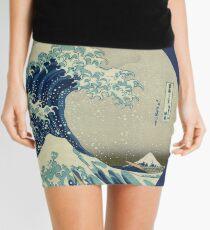 Große Welle vor Kanagawa-Kreis Minirock