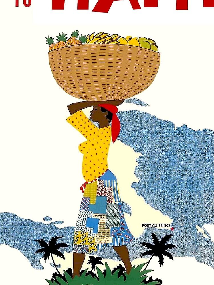 HAITI; Vintage Travel Advertising Print by posterbobs