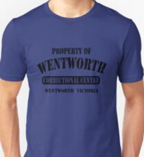 Property of Wentworth Prison Unisex T-Shirt