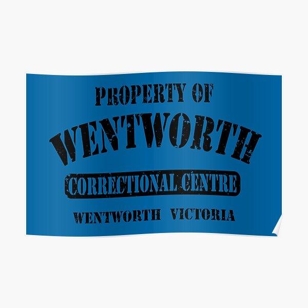 Eigentum des Wentworth-Gefängnisses Poster