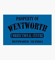 Property of Wentworth Prison Photographic Print