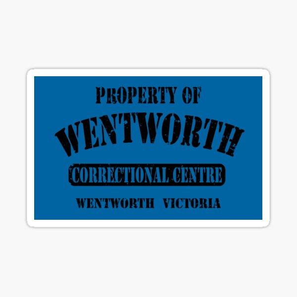Property of Wentworth Prison Sticker