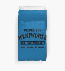 Property of Wentworth Prison Duvet Cover