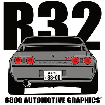 Nissan Skyline R32 GTR Grey Version by 8800ag
