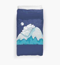 Cozy Mountain Duvet Cover