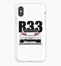 Nissan Skyline R33 Transparent Version iPhone Case/Skin