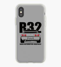 Nissan R32 Skyline GTR Transparent Version iPhone Case
