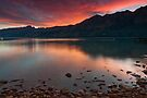 Glenorchy Sunset by Werner Padarin