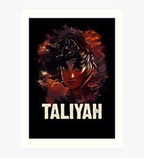 League of Legends TALIYAH Art Print
