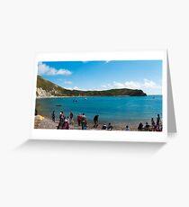 Lulworth Cove Greeting Card