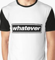 Whatever - OASIS Band Tribute Graphic T-Shirt