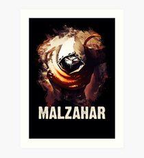 League of Legends MALZAHAR Art Print