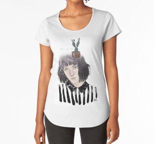 Camiseta premium para mujer