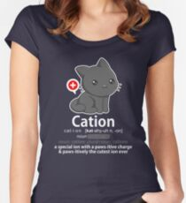 Cat-ion Women's Fitted Scoop T-Shirt