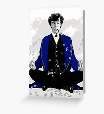 Mind Palace (Sherlock BBC) Greeting Card