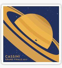 Cassini Grand Finale Sticker