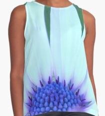 Just so blue centre Contrast Tank